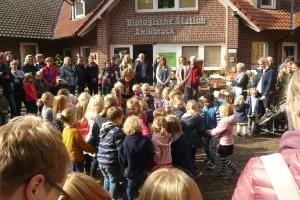 C Biologische Station Zwillbrock - Tanz zu den 4 Elementen Musikschüler Vreden 1 P1040669
